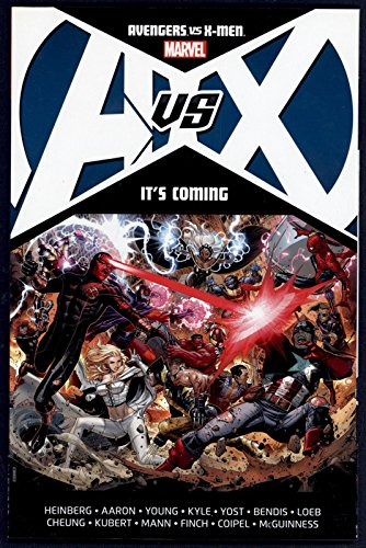 Avengers vs X-Men: It's Coming Trade Paperback TPB Graphic Novel Marvel Comics