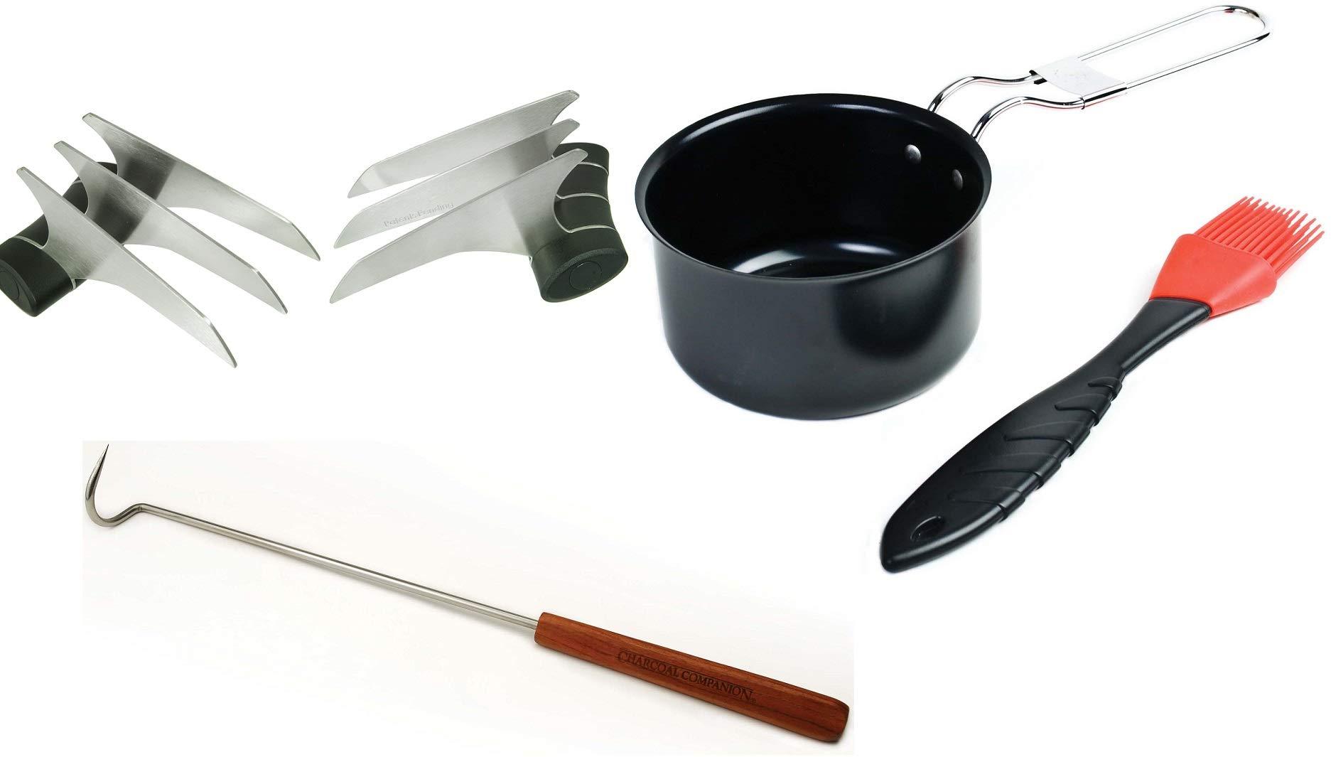 Charcoal Companion CC6691 Brisket Gift Bundle BBQ Accessories by Charcoal Companion