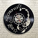 Jedfild The lovely art wall clock Scorpio