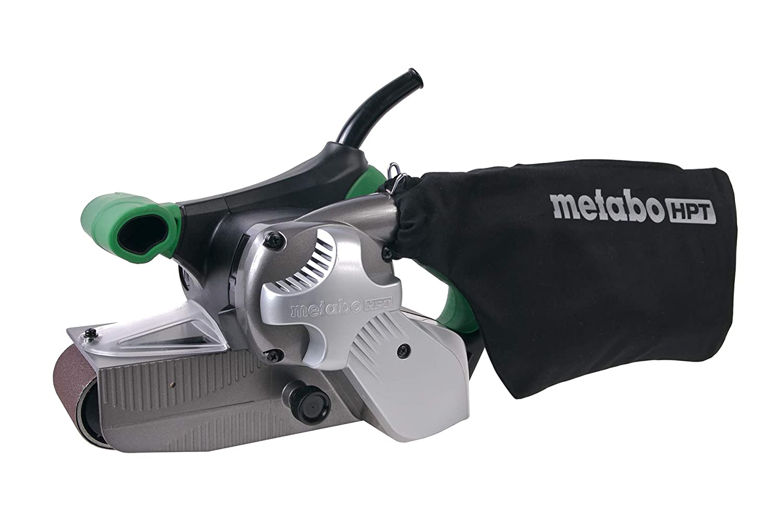 Metabo HPT SB8V2 Variable Speed Belt Sander, 3-Inch x 21-Inch V-Belt, 9.0 Amp - 1020W Motor, Soft Elastomer Grip, Flush Surface Design, 9.5 Lbs, 5-Year Warranty