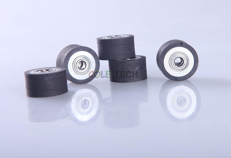 4pcs Pinch Roller for PCut KingCut Vinyl Cutting Cutter Plotter 4x10x18mm