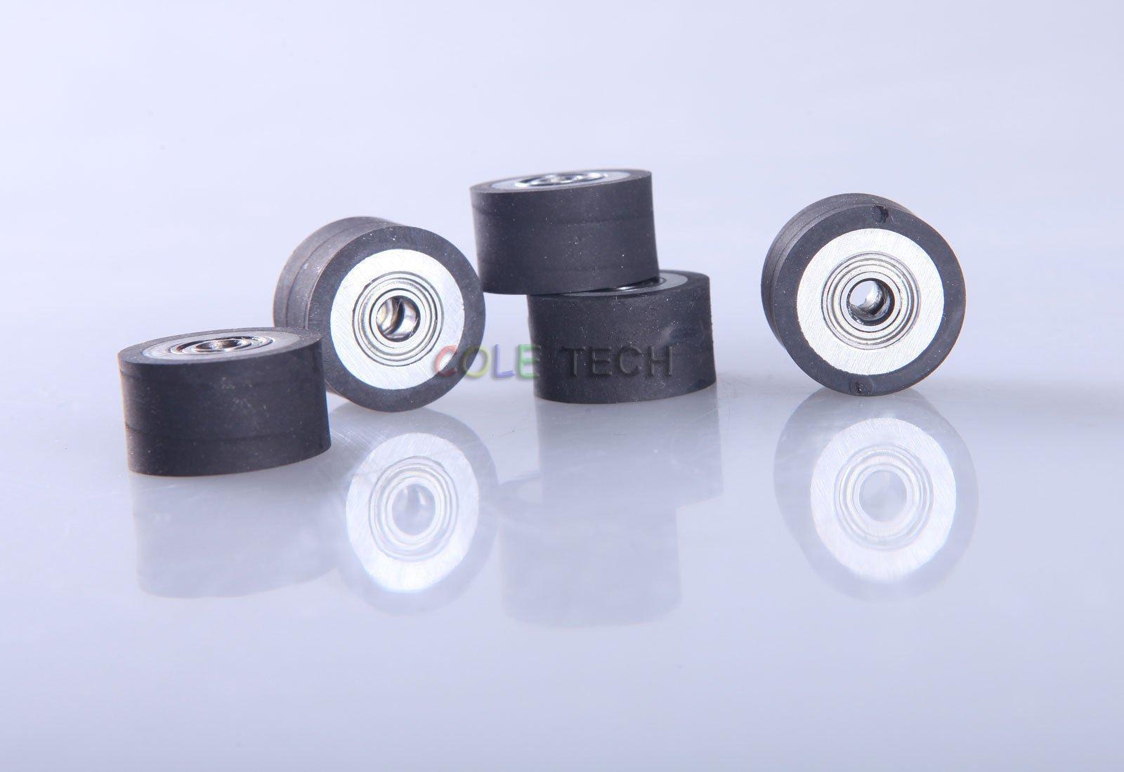 4pcs Pinch Roller for Mimaki Vinyl Cutting Cutter Plotter 4x10x14mm