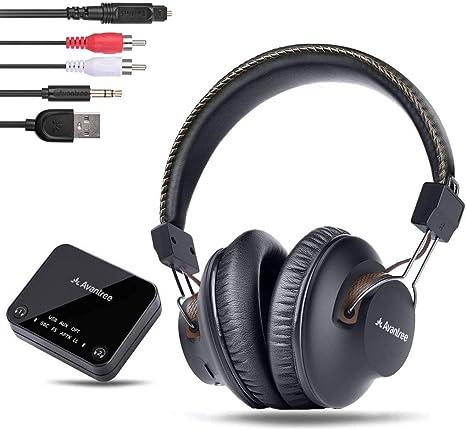 Av Avantree HT4186 Cuffie Wireless Auricolari a Collana Senza Fili per TV PC..