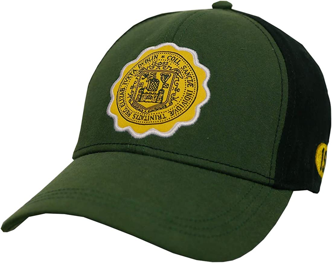 Bottle Green Trinity College Dublin Ireland Seal Baseball Cap