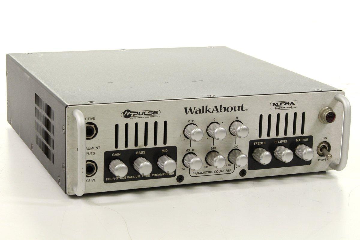 Mesa Boogie/M-Pulse Walkabout Head メサブギー ベース用ヘッドアンプ B07FD6S4FW