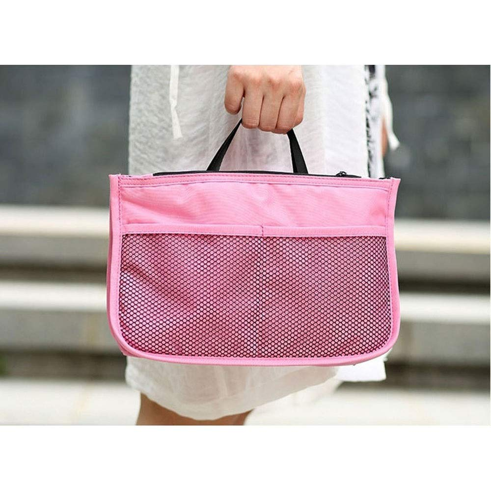 LORGDFDF Practical Multi-Function Baby Stroller Organizer Bag Cosmetic Bag for Women Lots of Space Light and Durable Pink is A (Color : Pink, Size : Free Size) by LORGDFDF (Image #6)