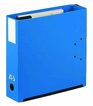 Arianex - Archivador de doble capacidad con separadores indizados de la A-Z lomo de 2 x 50 mm formato A4 color azul: Amazon.es: Oficina y papelería