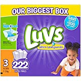 Luvs Diapers sz 3, 222 ct (Old Version)