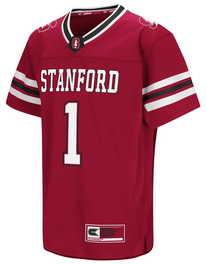 Stanford Cardinal NCAA Hail Mary Pass Youth Kinder Football Jersey Trikot Colosseum