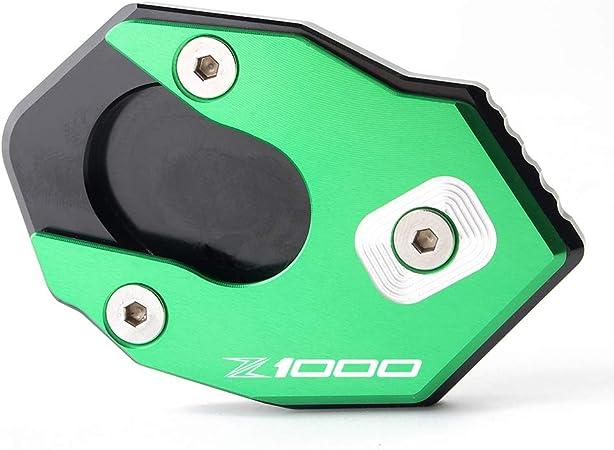 Support de plaque de support de b/équille lat/érale aluminium Plaque Agrandir Pad pour Kawasaki Z1000 2010-2019 Z1000SX 2011-2017