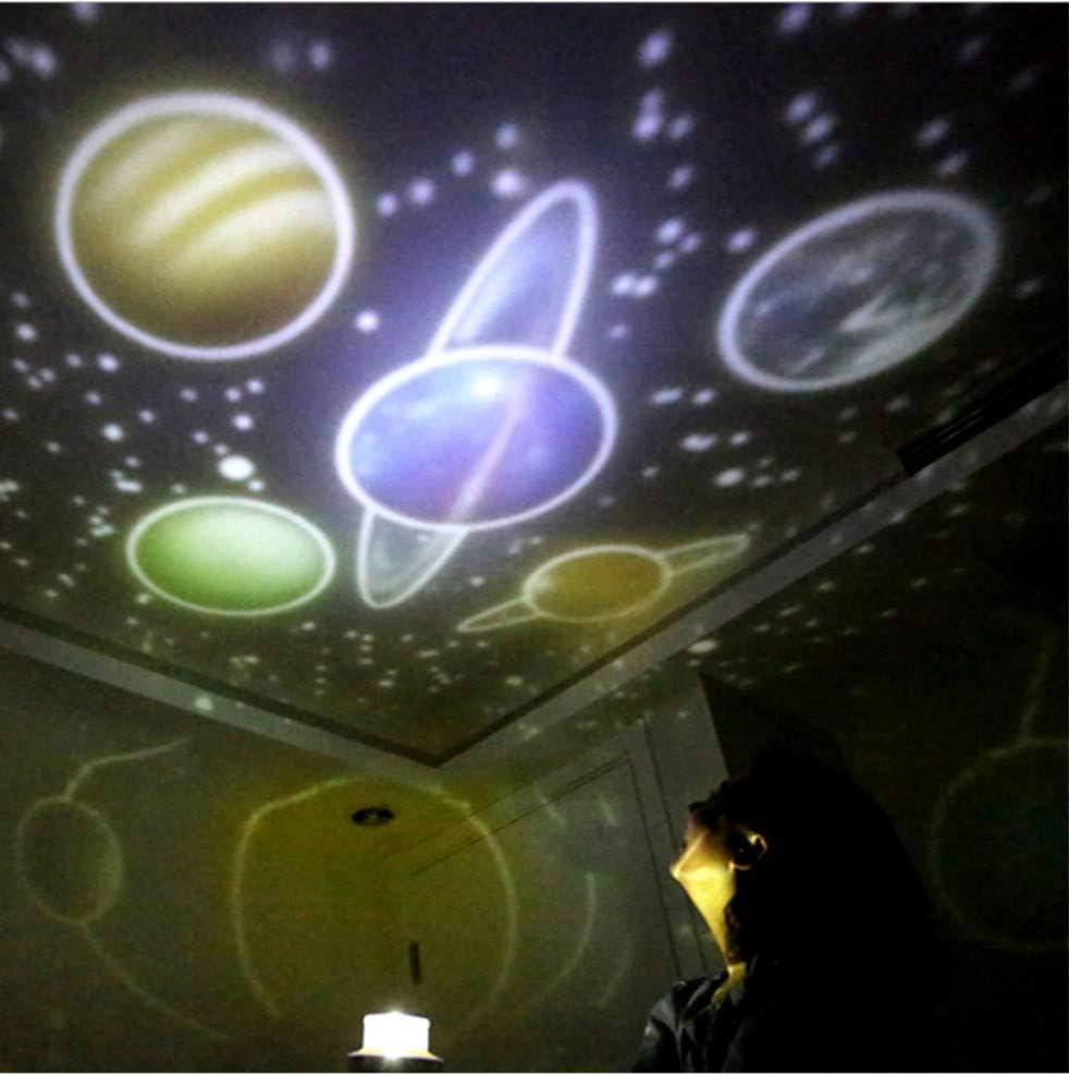 Luces De La Noche Estrellada Luces De La Noche Planeta Proyector ...