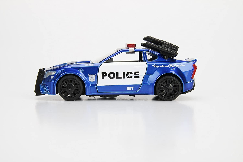 Jada 98394 1:32 Die Cast approx Police Car Barricade Transformers: The Last Knight