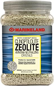 Marineland PA0382 White Diamond Ammonia Neutralizing Crystals, 50-Ounce, 1417-Gram