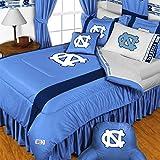 NCAA North Carolina Tarheels - 4pc BEDDING SET - Twin/Single Size
