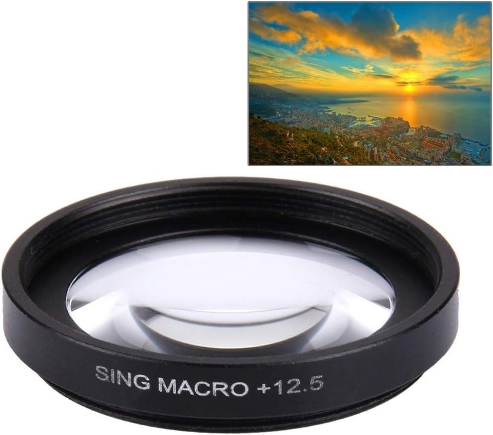 HJT AYSMG JUNESTAR Proffesional 37 mm 12.5X Filtro de Lente Macro + Tapa Protectora de Lente for GoPro y Xiaomi Xiaoyi Yi Sport Action Camera