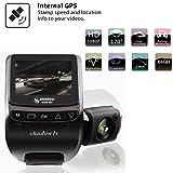 """Shadow1S Dash Cam, Car Camera 2.4"""" FHD 1080p 160"""