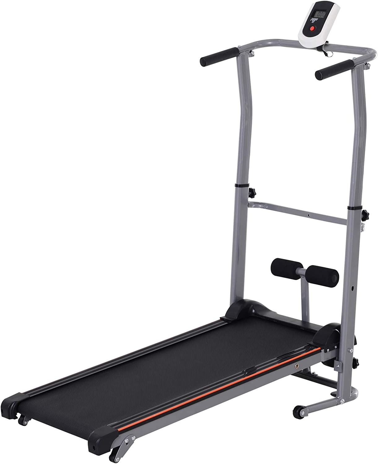 Weslo CardioStride 4.0 Manual Folding Treadmill with Adjustable Incline and LCD
