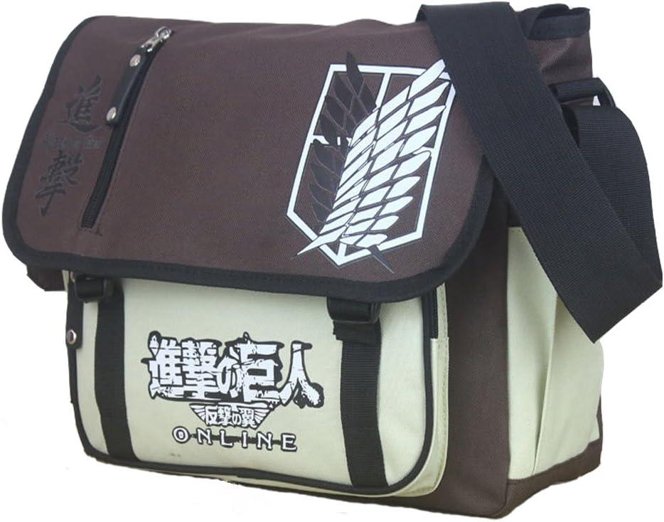 KINOMOTO Anime Cosplay Satchel Messenger Bag School Shoulder Bag Crossbody Bag (Anime)