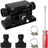 1 STKS Elektrische Boorpomp, Miniatuur Waterpomp Draagbare Handboor Pomp Zelfaanzuigende Boor Pomp met 2 STKS…