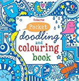 img - for Little Doodling and Colouring Book: Blue Book (Usborne Drawing, Doodling and Colouring) book / textbook / text book