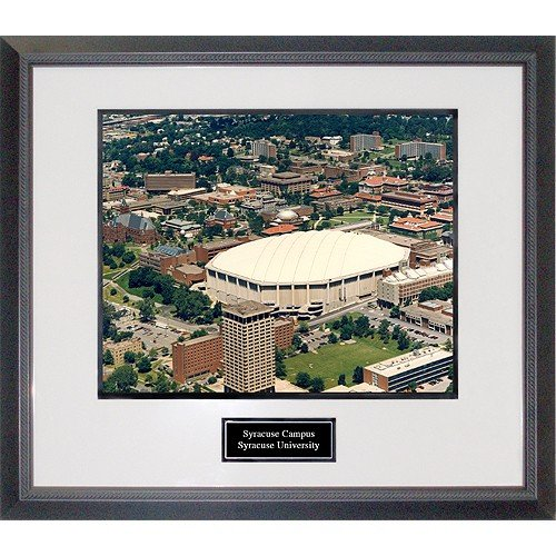 Syracuse University Overhead of Campus Framed 16x20 Photograph by Biggsports