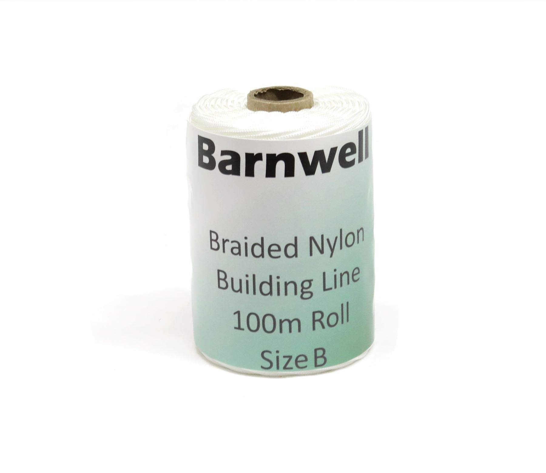 Barnwell Braided Nylon Chalk Brick Building Line 100m (320ft) Roll Size B Thicker ... by Barnwell