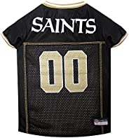NFL New Orleans Saints Dog Jersey, Small