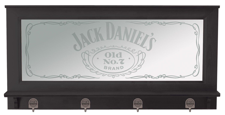Jack Daniel's Pub Mirror with Black Finish by Jack Daniel's