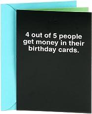 Hallmark–Tarjeta de felicitación de cumpleaños tarjeta de felicitación 66, 4 Out of 5 People