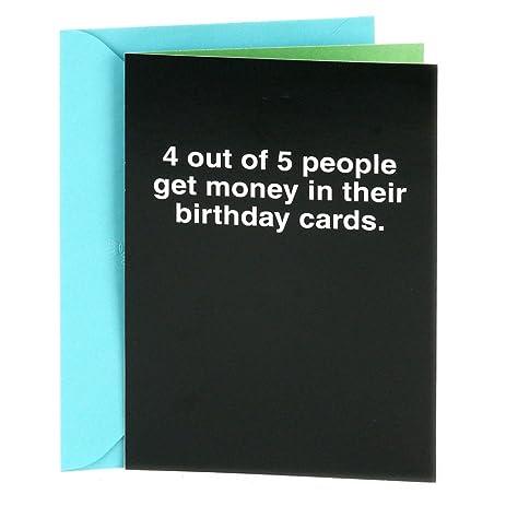 Amazon Hallmark Shoebox Funny Birthday Greeting Card 4 Out – Free Happy Birthday E Cards Hallmark