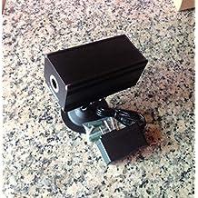 12V 80mw 532nm High Power Industrial Fat Beam Green Laser Dot Module w/Adapter