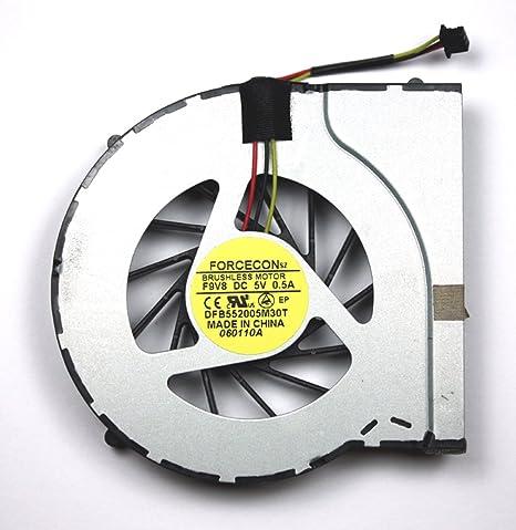 Power4Laptops Ventilador para Ordenadores portátiles Compatible con HP Pavilion DV6-3153SS: Amazon.es: Informática
