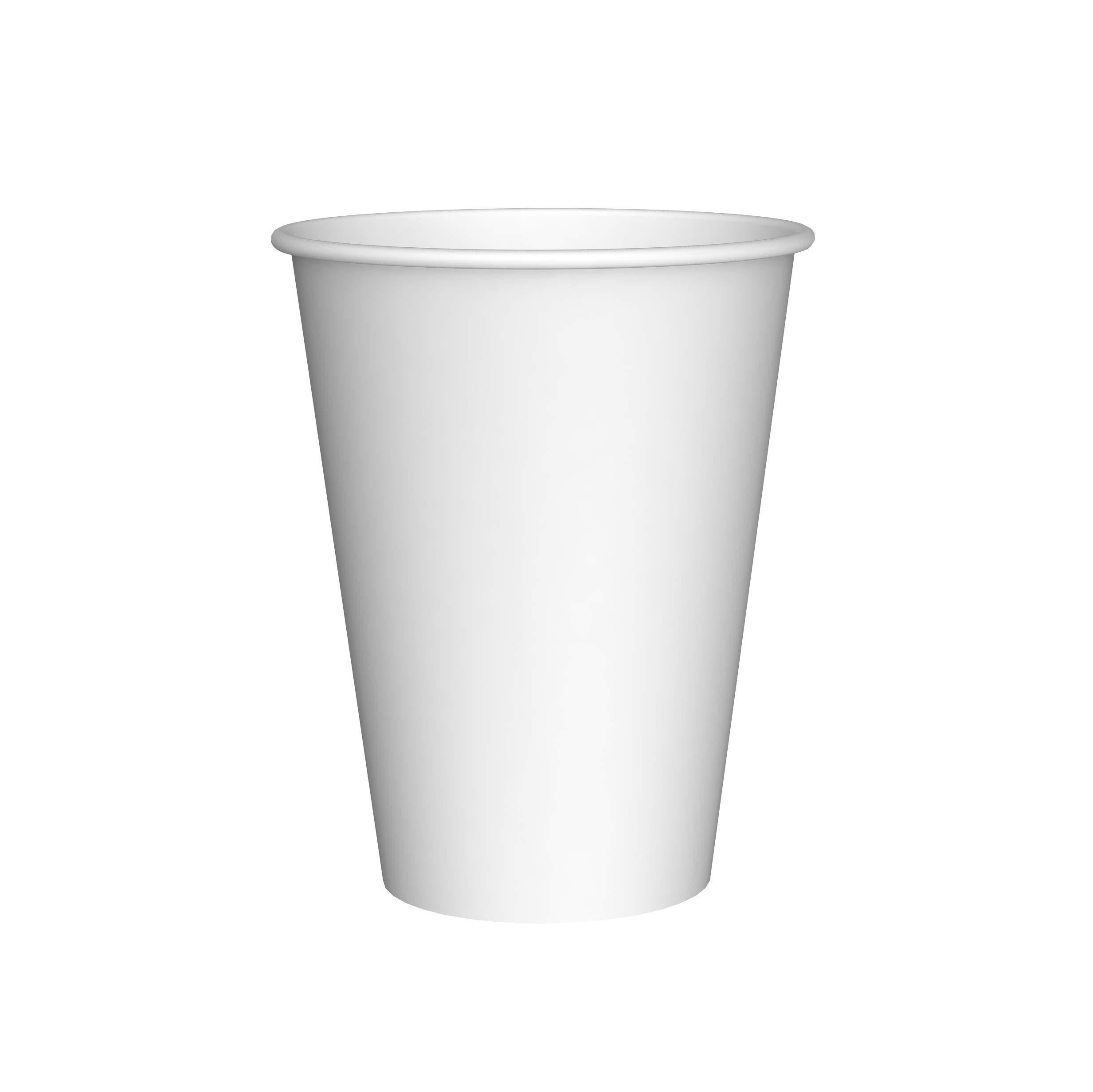 Amazon Brand - Solimo 12oz Paper Hot Cup, 500 Count by Solimo (Image #1)