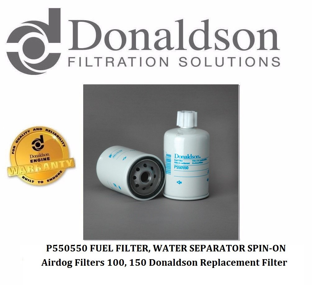 Donaldson P550550 - AirDog Replacement Filter (Pack of 3)