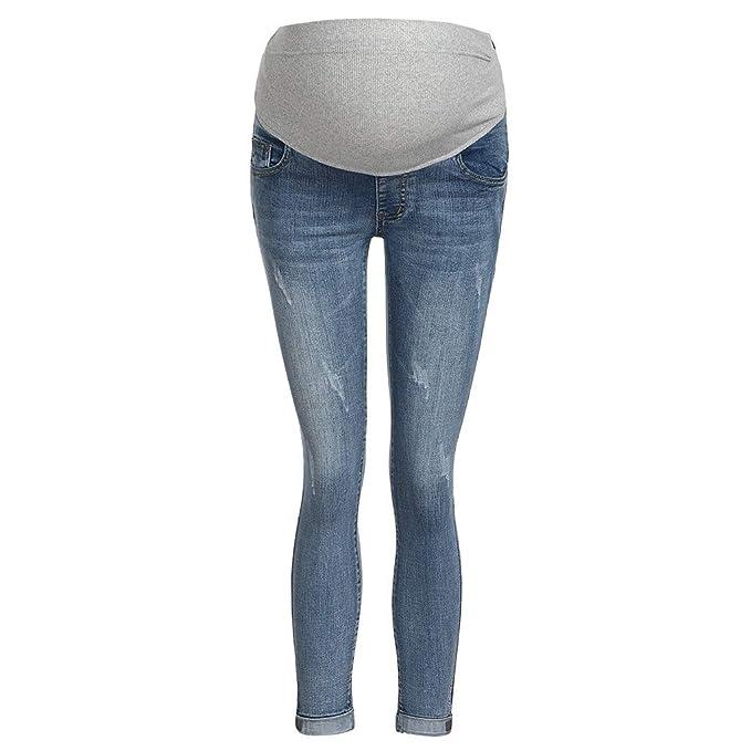 Vaqueros Rotos Mujer Azules ❤️Absolute Pantalones Vaqueros ...