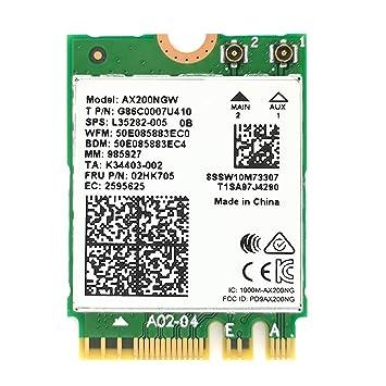 Amazon.com: UFON PCIe WiFi Card Wi-Fi 6 AX200 802.11ax PCI-E ...