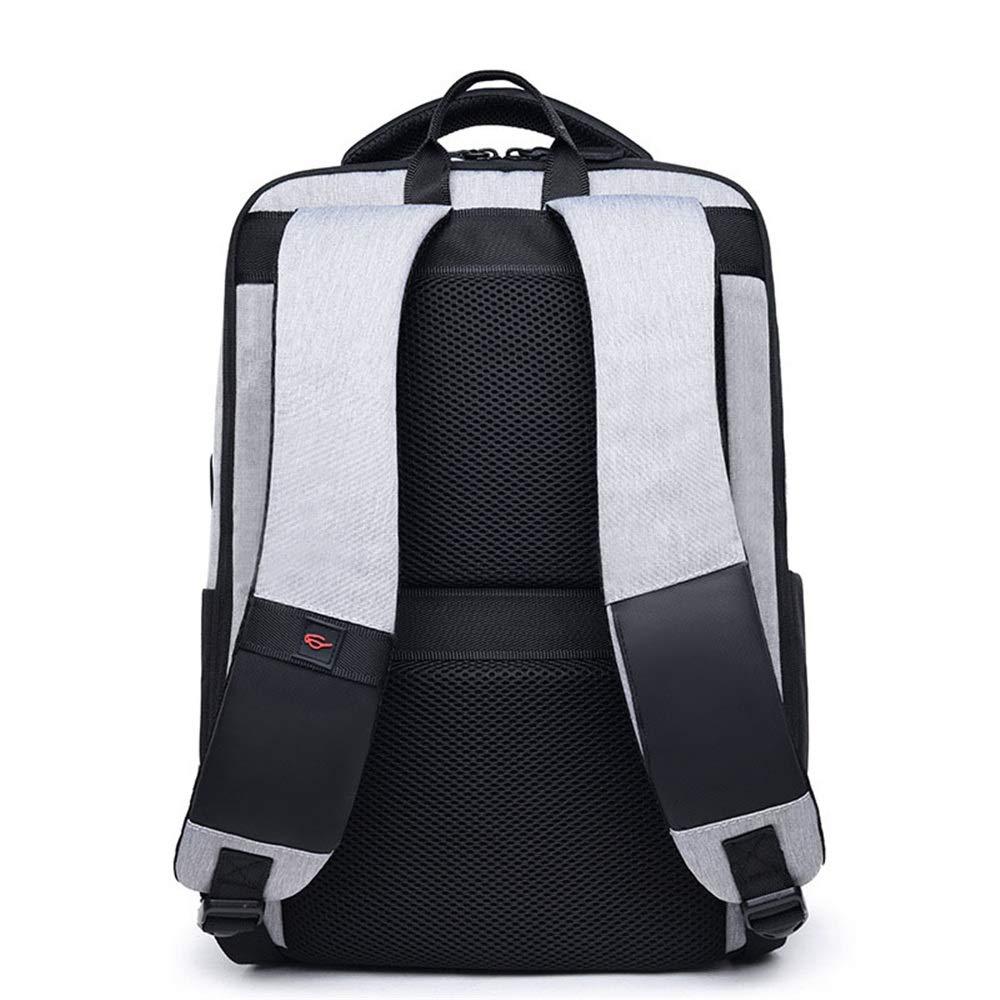0cf39593bc Xuanbao Casual Daypack Zaino da uomo Outdoor Casual nylon impermeabile da  15,6 pollici USB Daypack Commerce Travel colore: ...
