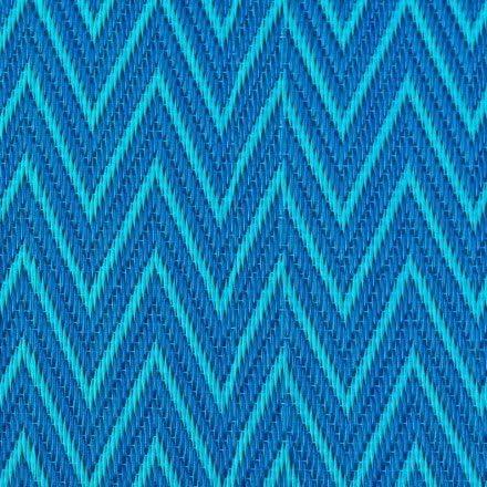 Tapis Interieur Ou Exterieur Natte Africaine Plastique Chevrons Bleus Et Turquoises Amazon Fr Cuisine Maison