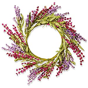 National Tree Company 20 in. Floral Wreath 87