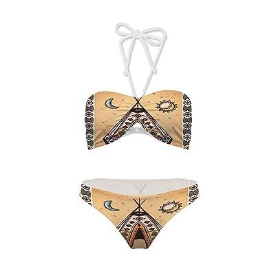 Amazon Two Piece Bikinisymbols Cultural Unique Bohemian Free