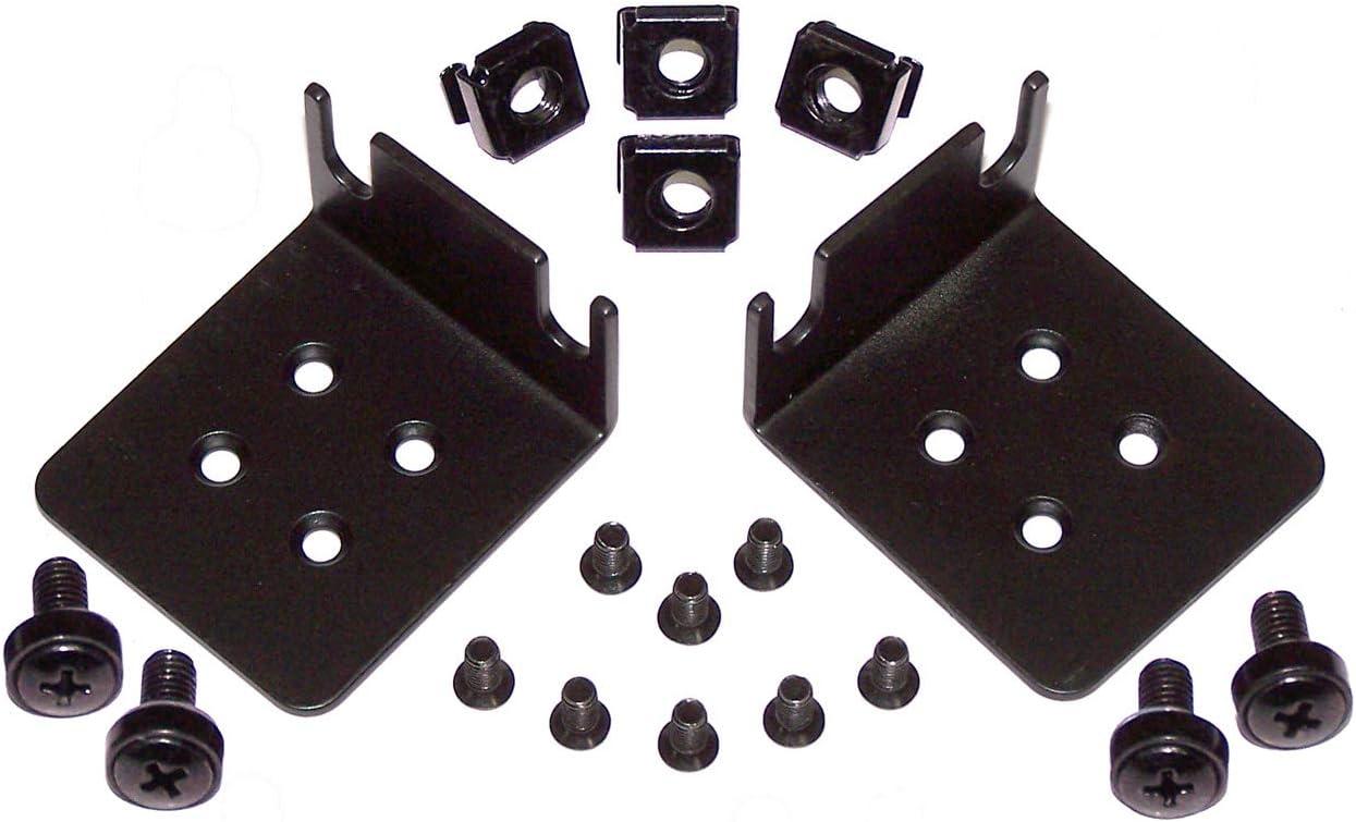 1U Left /& Right Rack Mount Bracket Ears
