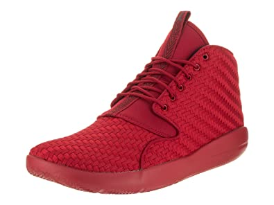 new arrival 2d69c 6bf8d Image Unavailable. Image not available for. Color  Jordan Nike Men s  Eclipse Chukka Red Textile Basketball Shoes 10