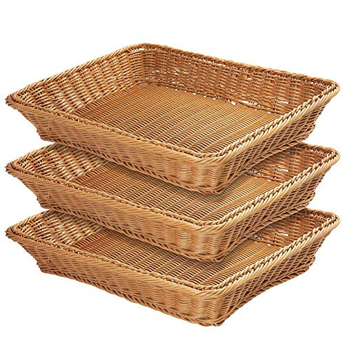 Wicker Bread Baskets - 17.7