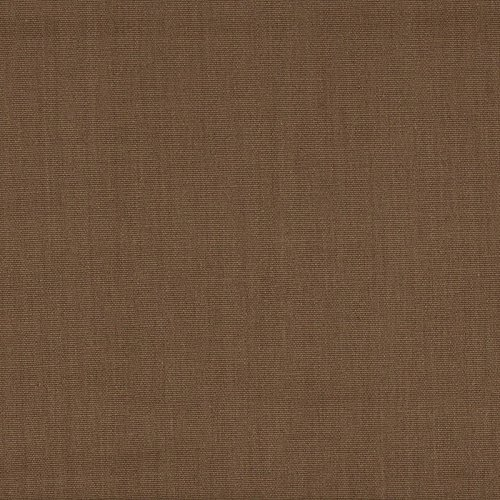 Clipper Taupe Brown Solid Bradford Valance Cotton with Beacon Hill Coffee Back (Beacon Hill Linen)