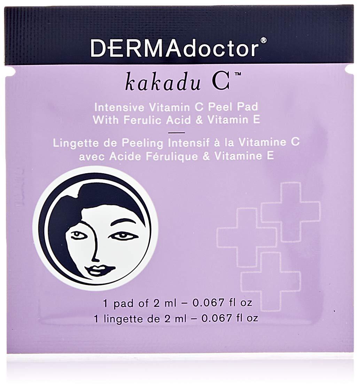 DERMAdoctor Kakadu C Intensive Peel Pad, 0.06 oz