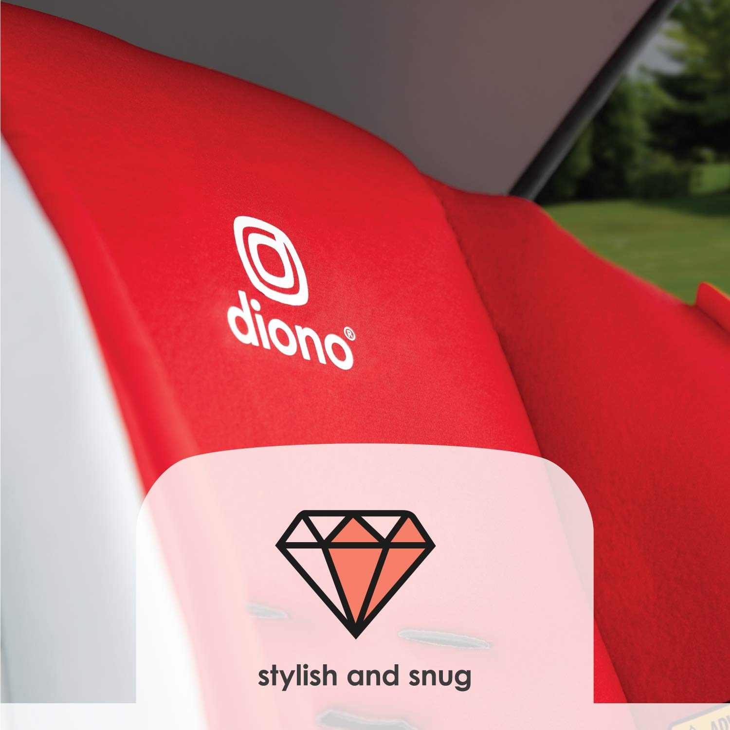 Diono Radian 3R All-in-One Car Seat Pink