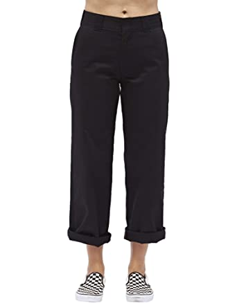9393439df57 Amazon.com  Dickies Girl Juniors  Roll Hem 26