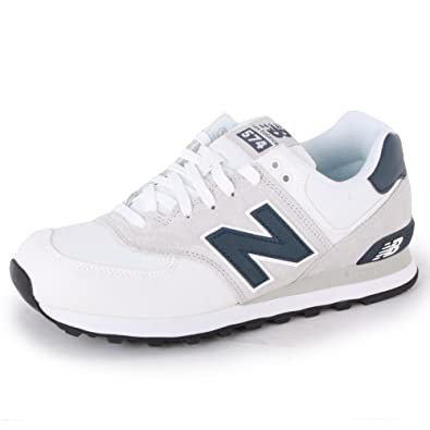 huge selection of 655e2 18a78 New Balance 574 ML574CVW Womens Laced Canvas & Suede ...