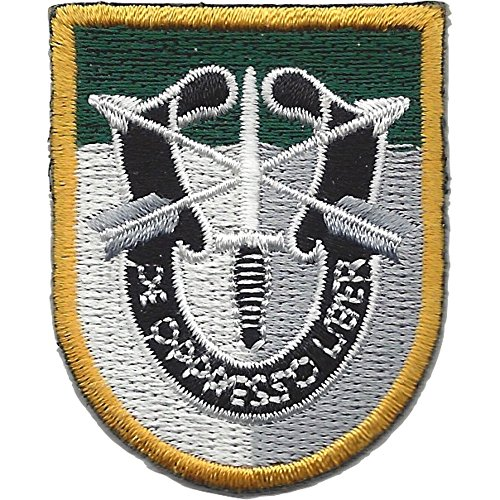 - Special Forces Group JFK Flash Patch With Crest