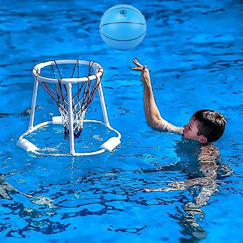 Water Basketball Pool Basketball Kids Indoor Basketball 8 Inch Diameter Soft And Bouncy